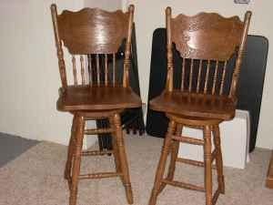 Bar Stools Solid Wood Oshkosh For Sale In Appleton Wisconsin Classified