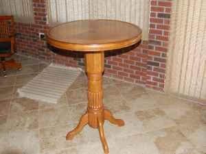 BAR TABLE - $150 (MIDDLEBURG)
