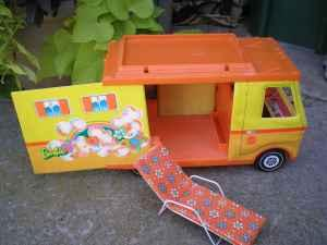 Barbie Camper and accessories - $30 (Ames, Iowa)