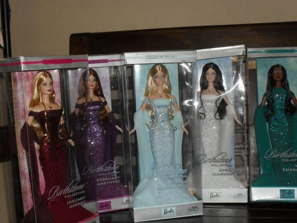 Barbie Collectible dolls Birthstone Editions - $300