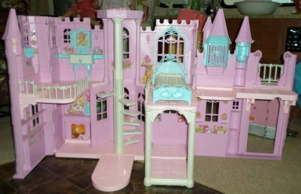 Barbie Princess Castle Doll House With Sound Amp Light For