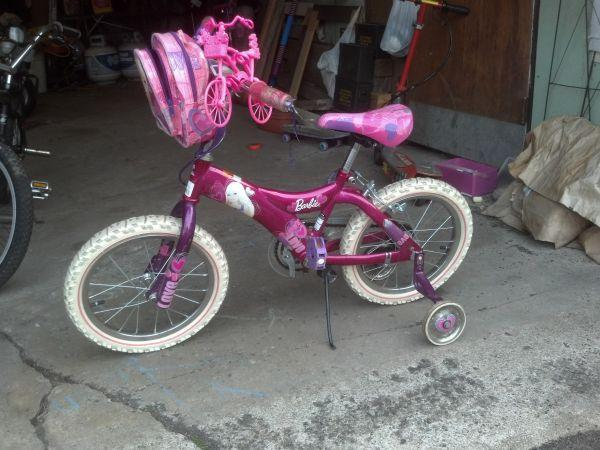Barbie Ride With Me 16 Quot Bmx Bike Niagara County For