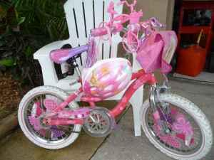 Barbie Bicycle wHelmet - 30 (Venice) for sale in Sarasota, Florida