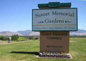 Bargain 2 Burial Plots W Concrete Liner Sunset