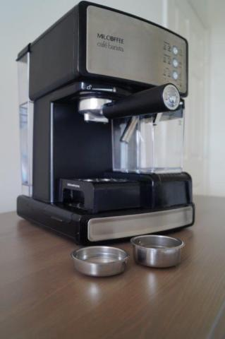 Barista Espresso Maker with Automatic milk frother and coffee grinder