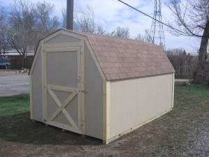 Gentil Barn Style Storage Shed 8x12 New   $1200 (Denver)