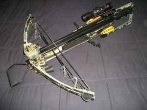 Barnett Crossbows Quad 300 Bow and Scope - $150 (Lafayette, LA )
