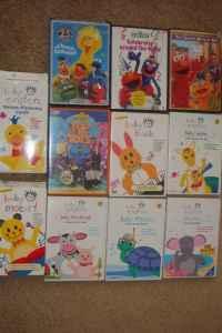 Barney Wiggles Dora Baby Einstein Dvds Vandalia Oh