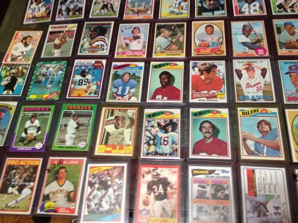 Baseball Football Card Collection 1000 Cards 350
