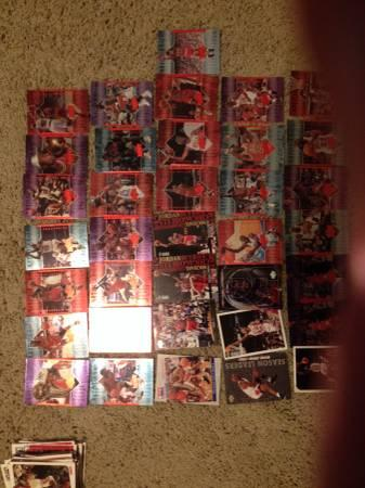 Basketball cards - $75