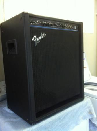 bass amp fender bxr 100 watt for sale in texarkana. Black Bedroom Furniture Sets. Home Design Ideas