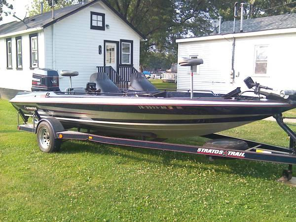 bass fishing boat 1992 19 6 stratos for sale in On fishing boats for sale in illinois