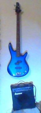 Bass Guitar and Amplifier for Sale