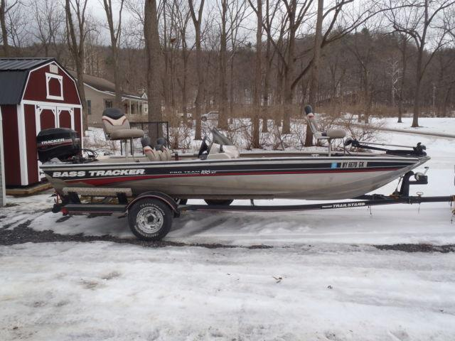 bass tracker boat motor trailer for sale in honeoye
