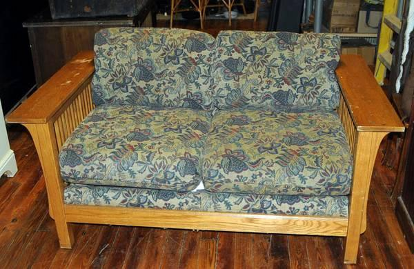 Bassett Mission Style Sofa For Sale In Bascom Florida Classified