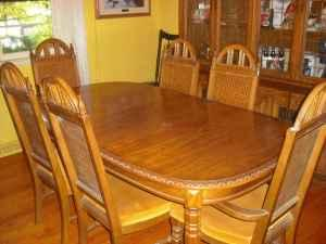 Dining Table Bassett Dining Table And Chairs