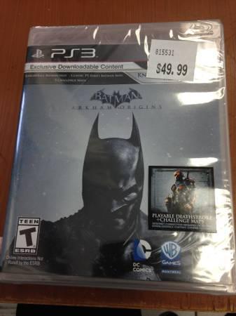 Batman Arkham Origins At An Amazing Price For Sale In Garden Grove California Classified