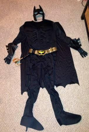 Batman Costume- Superb Quality with lots of detail! -