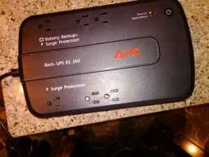 Battery Back up Surge Protector - $20 Papillion