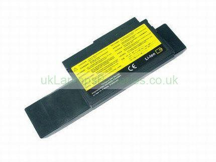 Battery for ibm ThinkPad 240X 6 Cell 10.8V 3600mAh