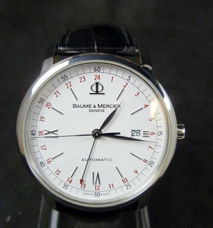 Baume Mercier Classima Executives 8462 GMT White