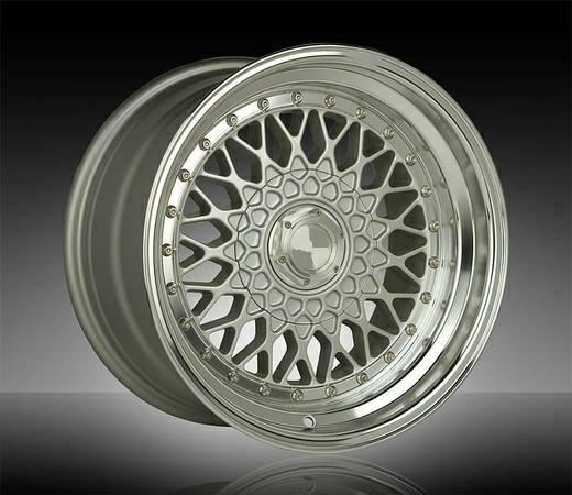Bbs Rs Mesh Style Rims 17x8 5 15 5x100 Amp 5x114 3 For