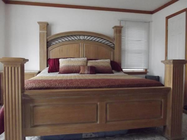 Beach Style King Bedroom Set