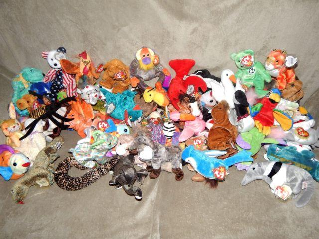 Beanie Babies, Buddies, trading cards, and more