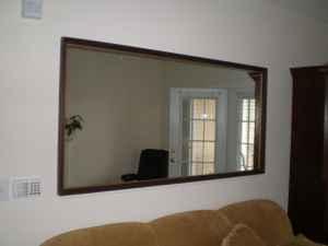 Beautiful 6 By 3 Foot Framed Mirror 60