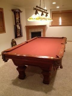 BEAUTIFUL AMERICAN HERITAGE POOL TABLE WACCESSORIES For Sale In - American heritage pool table prices