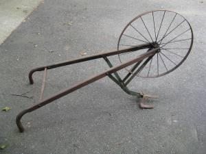 Beautiful Antique Hand Plow W Original Paint For Sale In