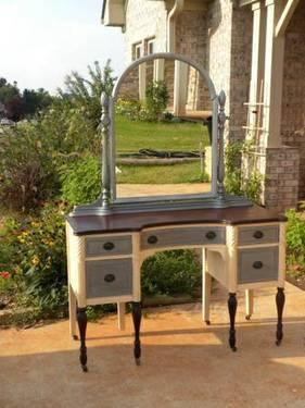 Beautiful Antique Vanity-Redone