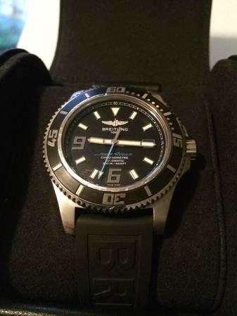 Beautiful Breitling Superocean 44 - $2300