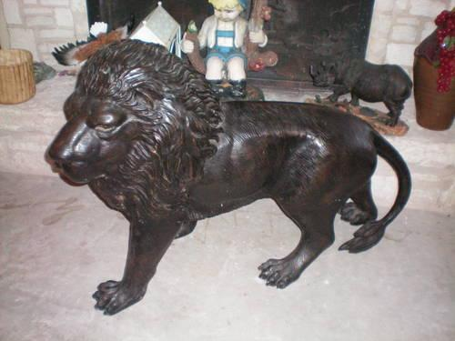 Beautiful Cast Iron Lion For Sale In San Antonio Texas