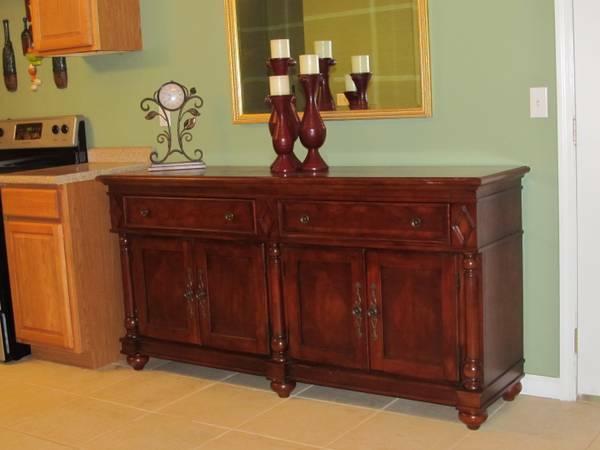 beautiful cherry wood Buffet - $550