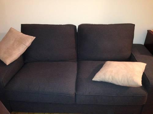 Beautiful Couch Kivik Style And Matching Ottoman For