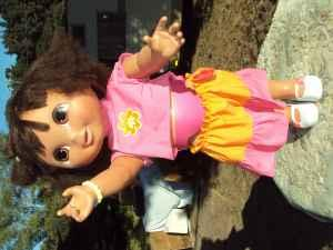 Beautiful Dora The Explorer Doll 3 Ft Tall Talking And