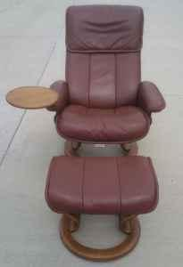 Beautiful Ekornes Stressless Recliner And Ottoman For Sale In