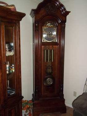 retired howard miller grandfather clocks