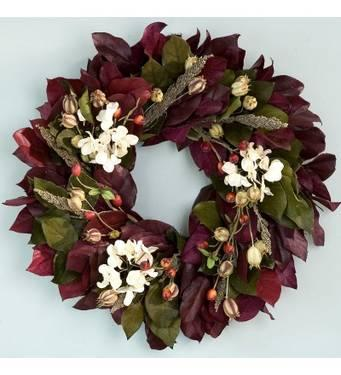 beautiful indoor year round wreath hydrangea wreath for