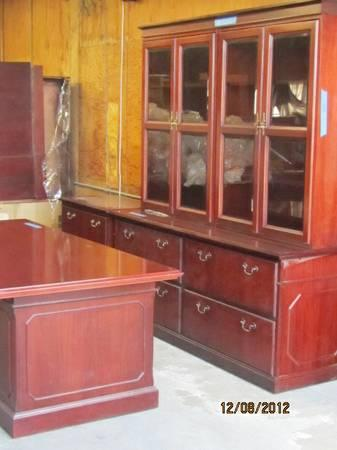 Beautiful Kimball Office Suites Desk Credenza And Double