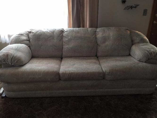 Beautiful Light Colored Sofa