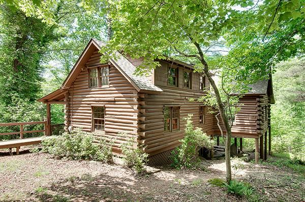 Beautiful Log Home For Sale In Marietta Sc For Sale