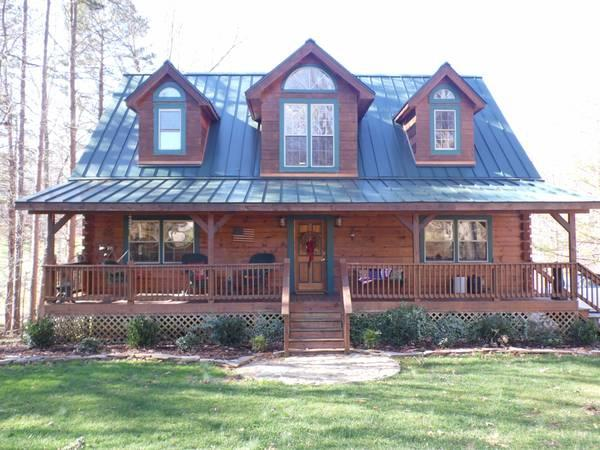 Beautiful Log Homes Credit Challenged Program Available