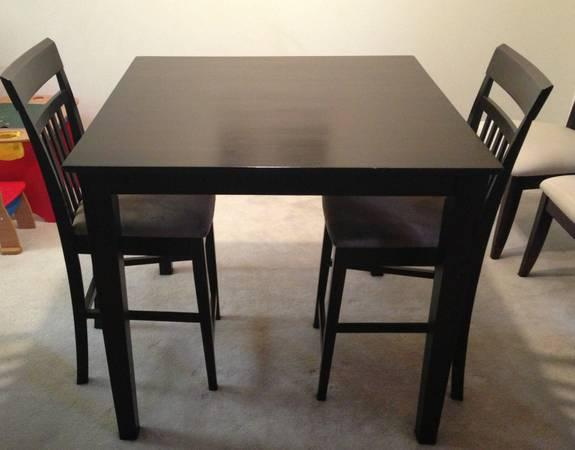 Counter Height Table And Chairs For Sale : Beautiful Modern Counter Height Dining Room Table with Chairs for sale ...
