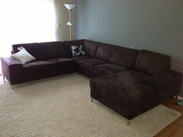 Beautiful Modern Scandinavian Designs Oregon Anthracite Sectional For Sale In San Carlos