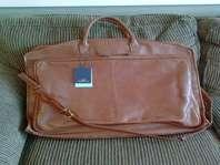 Beautiful New Leather Garment Bag