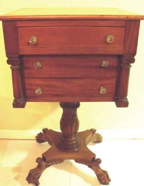 BEAUTIFUL RARE 18TH CENTURYCHEST/TABLE ATOP CARVED