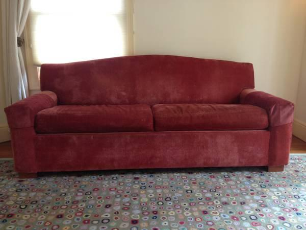 BEAUTIFUL Tailored Mitchell Gold Queen Sleeper Sofa