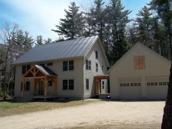 beautiful timber frame home for sale in tamworth nh